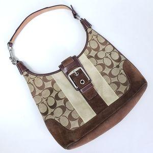 Coach mini Signature C Print  shoulder bag
